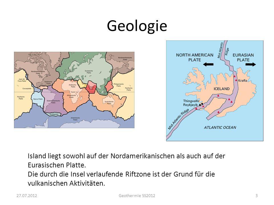 Geologie [Orkustofnum] 27.07.2012 Geothermie SS2012